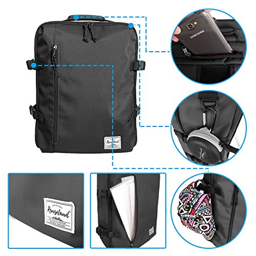 cecaf4cd79b Rangeland 2018 Business Trip Backpack 21L Flight Approved Carry on Daypack for  15 inch Laptop