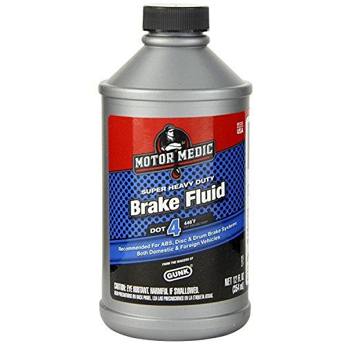Motor Medic Oil (Motor Medic M4512/6 DOT 4 Super Heavy Duty Brake Fluid - 12 oz.)