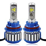 Win Power 9007(HB5) LED Hi-lo Beam Headlight CREE Bulbs Conversion Kits + Canbus (1 Pair)-2 Year Warranty