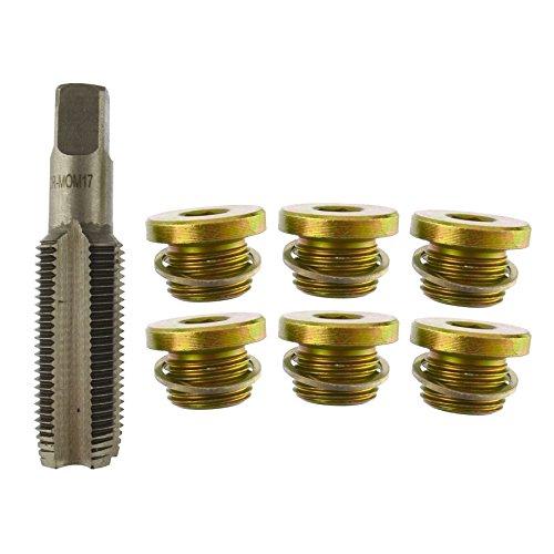 Sump Plug/Oil Drain Repair/Rethreader Kit M16 - M17 Thread AN091 ()