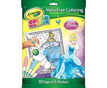 Crayola Disney Princess Color Wonder Magic Colouring Set: Amazon ...