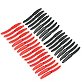 RAYCorp® 5030 5x3 Maxi Pack of 32 Propellers(16 CW, 16 CCW) Genuine 5-inch Quadcopter and Multirotor Props + Battery Strap