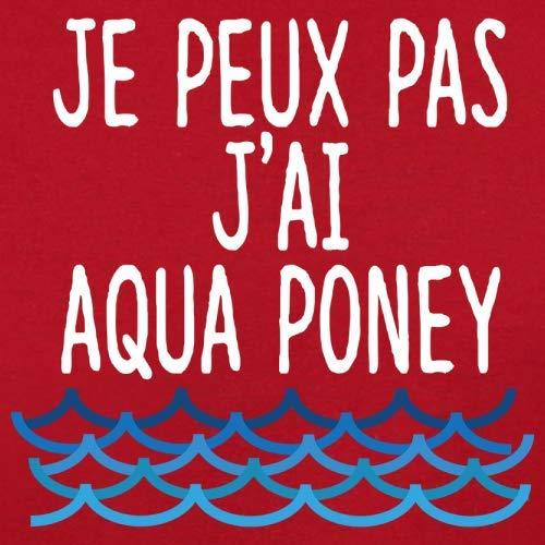 Rouge shirt Peux T J'ai Homme Couleurs Poney Aqua Pas 13 Je xSTvwq0gw