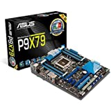 Asus P9X79 Motherboard Socket 2011, Intel X79, DDR3, ATX, PCI Express 3.0, Dual Intelligent Processors 3 with DIGI+ Power Control)