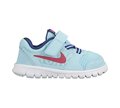 buy popular 1d9af b79f9 Amazon.com   New Nike Baby Girl s Flex 2015 RN Athletic Shoe Copa Vivid  Pink 8   Running