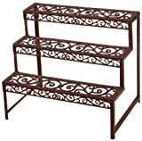 Esschert Design BPH33 Rectangle Etagere Plant Rack