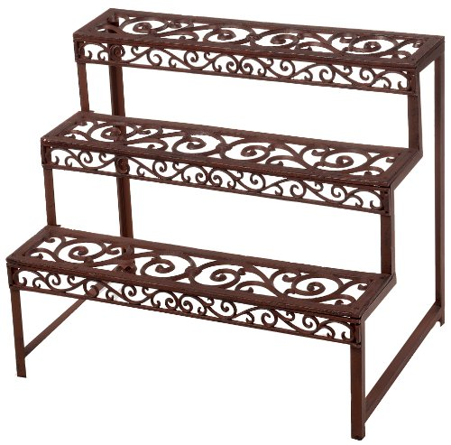 Esschert Design BPH33 Rectangle Etagere Plant Rack by Esschert Design USA