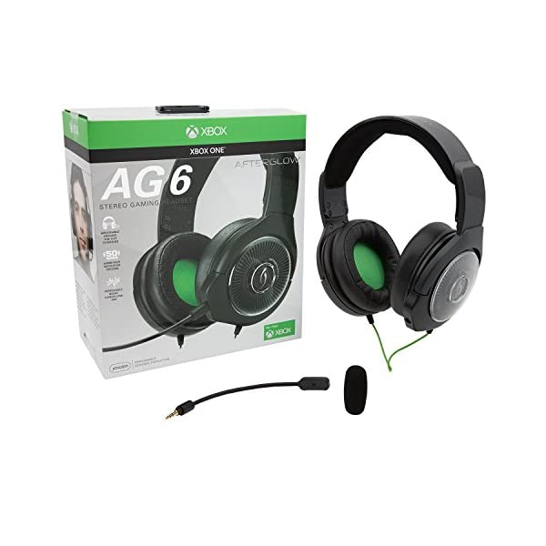 PDP Xbox One Afterglow AG 6 Wired Gaming Headset, 048-103-NA-BK 8