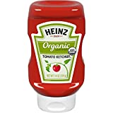 Heinz Organic Tomato Ketchup, 14 Ounce (Pack of 6)