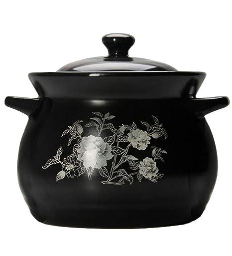 SHICCF Olla de Sopa de cerámica de Gran Capacidad for el ...