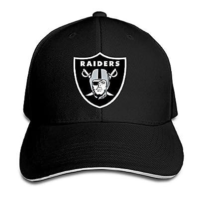 MayDay Oakland Raider UV Protect Sandwich Cap Black