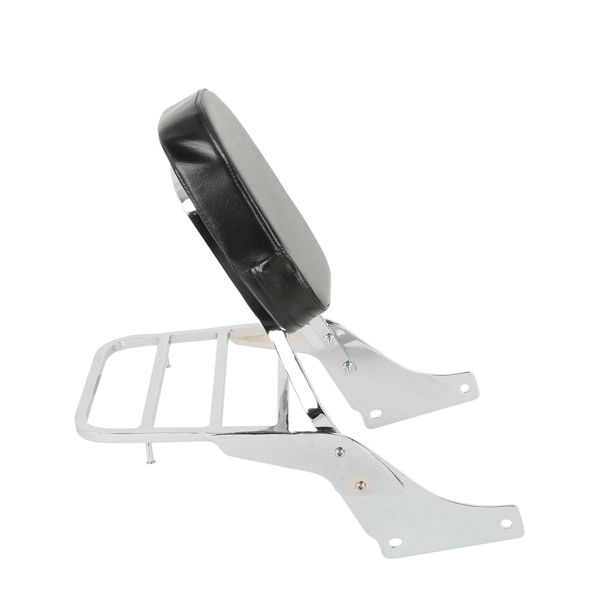 XFMT Backrest Detachable Sissy Bar W/Luggage Rack Backrest For Honda Shadow SABRE VT1100 ACE VT1100 All Years