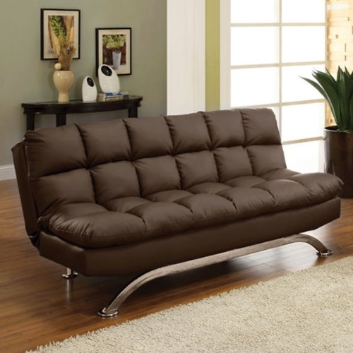 247SHOPATHOME futon-sets, Twin, Brown by 24/7 Shop at Home