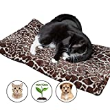 Thermal Warming Pad for Dogs and Cats - XL Couch Protecting Pet Bed - Machine Washable