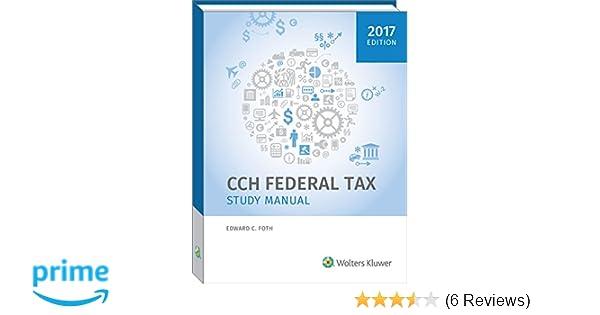 Federal tax study manual 2017 edward c foth phd cpa federal tax study manual 2017 edward c foth phd cpa 9780808043591 amazon books fandeluxe Choice Image