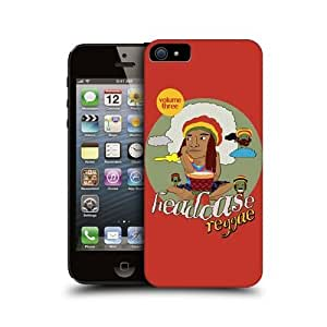 Reggae Musical Collection Snap-on Back Case Cover For Apple iPhone 5