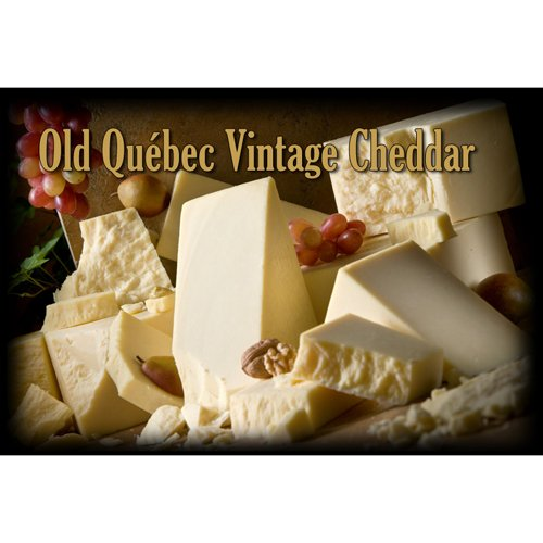(Quebec Vintage 3+ YR Aged Cheddar Cheese (Whole Block Approximately 5 Lbs))