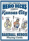 : Kansas City Royals Heroes Playing Cards