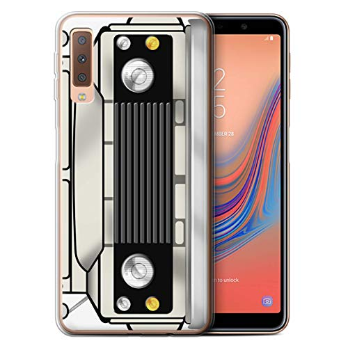 eSwish Gel TPU Phone Case/Cover for Samsung Galaxy A7 2018/A750 / Limestone Design/Classic 4x4 Defender Collection