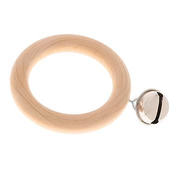 Rassel Glocken 1//3//4-Glöckchen Ring Klingel Musikinstrument Baby Fang