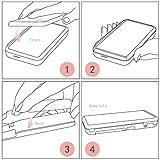 Nintendo 2DS XL case,YockTec Transparent Plastic