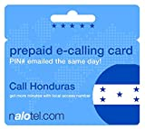 Prepaid Phone Card - Cheap International E-Calling Card $20 for Honduras with same day emailed PIN, no postage necessary