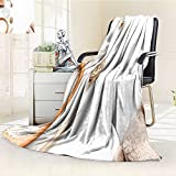 Nalahome Luminous Microfiber Throw Blanket spa composition for body care on white background top view mock up Glow In The Dark Constellation Blanket, Soft And Durable Polyester(60''x 50'')