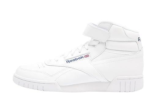 Reebok Exofit High Retro Sneaker All White - Zapatillas deportivas blancas a Botines con velcro Blanco Size: 43: Amazon.es: Zapatos y complementos