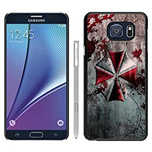 Hot Sale Resident Evil Umbrella Corporation Black Samsung Galaxy Note 5 Screen Phone Case Beautiful and Genuine Design