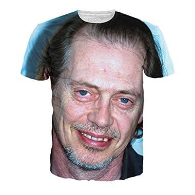RageOn Men's Steve Buscemi T-Shirt LG Multi