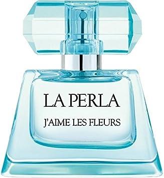 La Perla Eau de Toilette Spray, J aime Les Fleurs, 3.3 Ounce