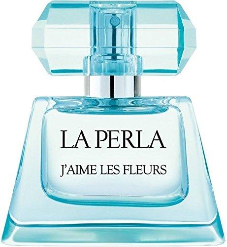 La Perla Eau de Toilette Spray, J'aime Les Fleurs, 3.3 Ounce