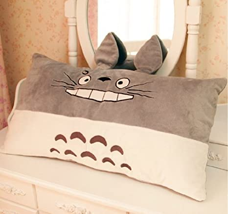 Amazon.com: Mi Vecino Totoro almohada, precioso desmontable ...