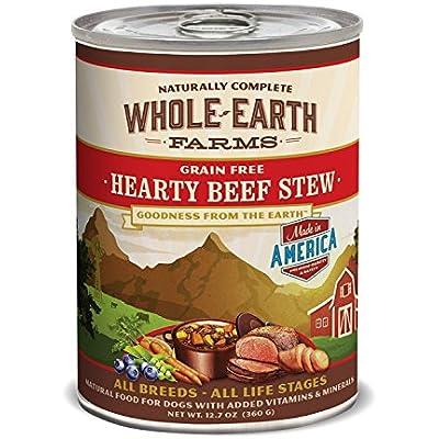 Merrick Pet Treats Whole Earth Beef Stew 12/12oz