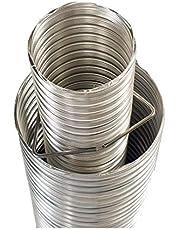 "Chimney Liner - 4""-7"" x 10' Direct Vent 3003 2 Ply Aluminum Liner"