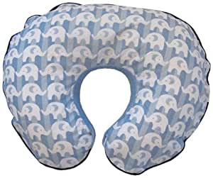 Boppy Organic Pillow Signature Slipcover, Elephant Parade (Discontinued by Manufacturer)