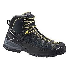 Men's Alp Trainer Mid GTX Boots Carbon / Ringlo 9.5 & Cap Bundle