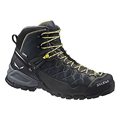 Amazon Com Salewa Men S Alp Trainer Mid Gtx Boots Carbon