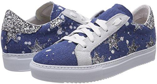 para Jeans Stokton Glitter Sneaker 42 Mujer Zapatillas EU qIwETwF