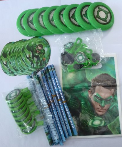 Green Lantern Party Favor Pack 48 Piece