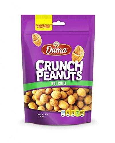 OUMA CRUNCH PEANUTS SWEET CHILI 8 oz(6 packs)