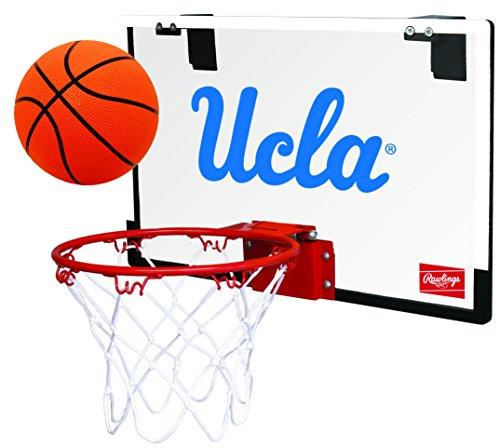 Basketball Bruins Ucla - Rawlings NCAA UCLA Bruins 00673065111NCAA Game On Polycarbonate Hoop Set (All Team Options), Blue, Youth