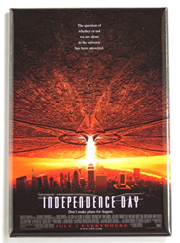 Independence Day Movie Poster Fridge Magnet (2 x 3 inches)