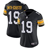 low priced ad5c8 c9f53 Amazon.com: Men's Juju Smith-Schuster #19 Pittsburgh ...