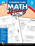img - for Common Core Math 4 Today, Grade 3: Daily Skill Practice (Common Core 4 Today) book / textbook / text book