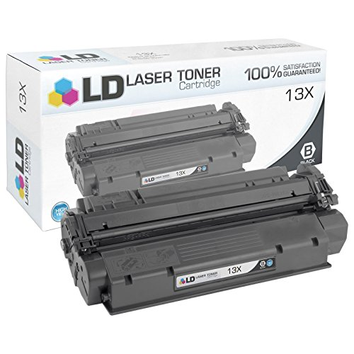 LD Remanufactured Replacement for HP 13X Q2613X High Yield Black Toner Cartridge for use in LaserJet 1300, 1300n & 1300xi