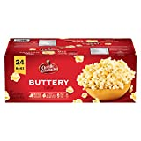 Orville Redenbacher Popcorn - Microwave Buttery (24 pack with 24 bags total)