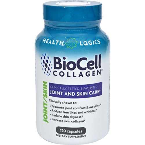 Health Logics BioCell Collagen - 120 Capsules (Pack of 4) by Health Logics