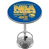 Trademark Gameroom 2015 NBA Champs Golden State Warriors Chrome Pub Table
