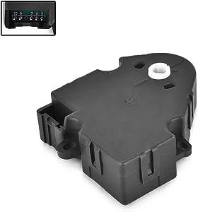 Heater Blend Door Air Temperature Actuator For 1994-2012 Chevrolet Chevy GMC - Silverado 1500 2500 Tahoe Sierra Buick Pontiac Cadillac Replaces 89018365, 604-106, 52402588 HVAC Blend Control Actuator